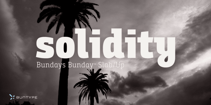 231051 - Font dňa – Bunday Slab