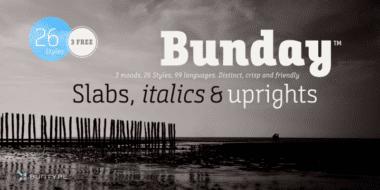 231052 380x190 - Font dňa – Bunday Slab