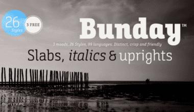 231052 380x220 - Font dňa – Bunday Slab
