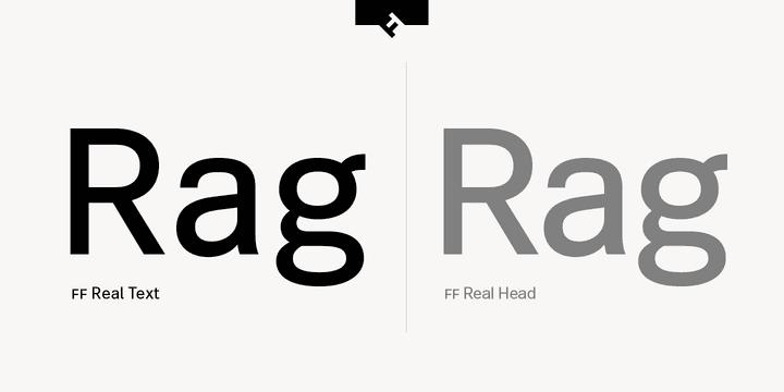 234511 - Font dňa – FF Real Text
