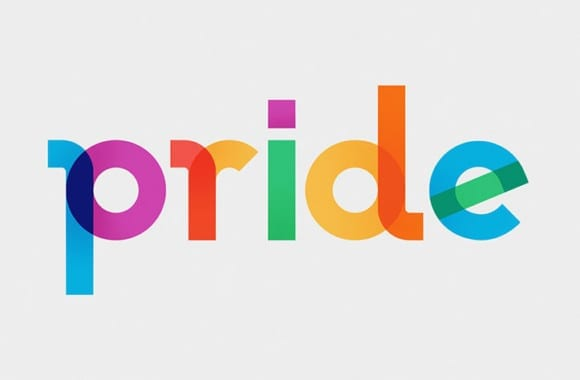 Type with Pride Gilbert Ogilvy list TypeWithPride 01 580x380 - Font inšpirovaný autorom myšlienky Dúhového pochodu