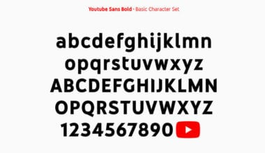 YouTube Sans Bold 380x220 - YouTube má svoje písmo