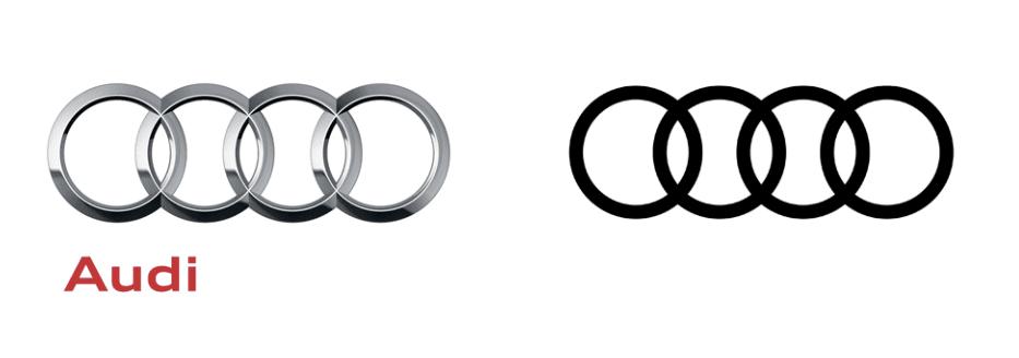 audi logo - Audi predstavilo novú inovatívnu identitu