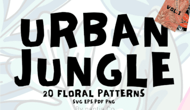 cover 5 380x220 - Urban Jungle Pattern Vol.1 zadarmo!