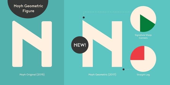 233945 - Font dňa – Noyh Geometric