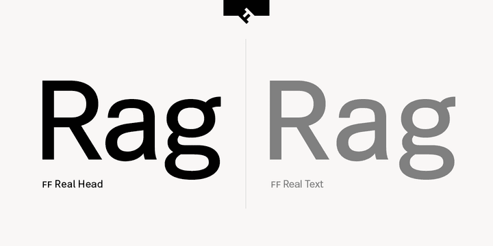 234499 - Font dňa – FF Real Head