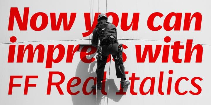234504 - Font dňa – FF Real Head