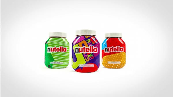 4 Nutella Unica Packaging Design Patterns Limited Edition - Nutella: 7 miliónov jedinečných obalov