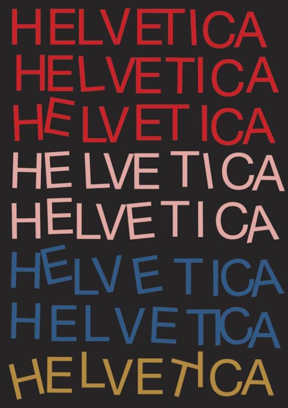 4 graphic designers helvetica typeface 60th anniversary posters 565x800 - Plagáty oslavujú - Helvetica má 60