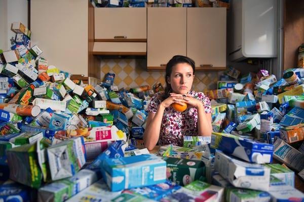 Antoine Repesse 365 Unpacked Recyclable Trash 4 Years 4 - Skvelý projekt, ktorý poukazuje na náš každodenný problém