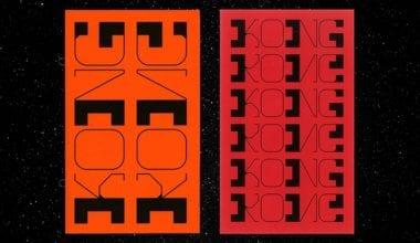 "Daniel Reed KONG Its Nice That 6 380x220 - Nový font Daniela Reeda inspirovaný čínským slovem ""Kong"""