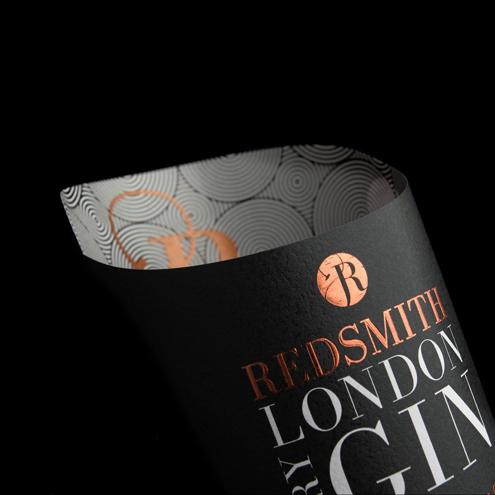 Royston Labels Redsmith 5 - Redsmith London Dry Gin