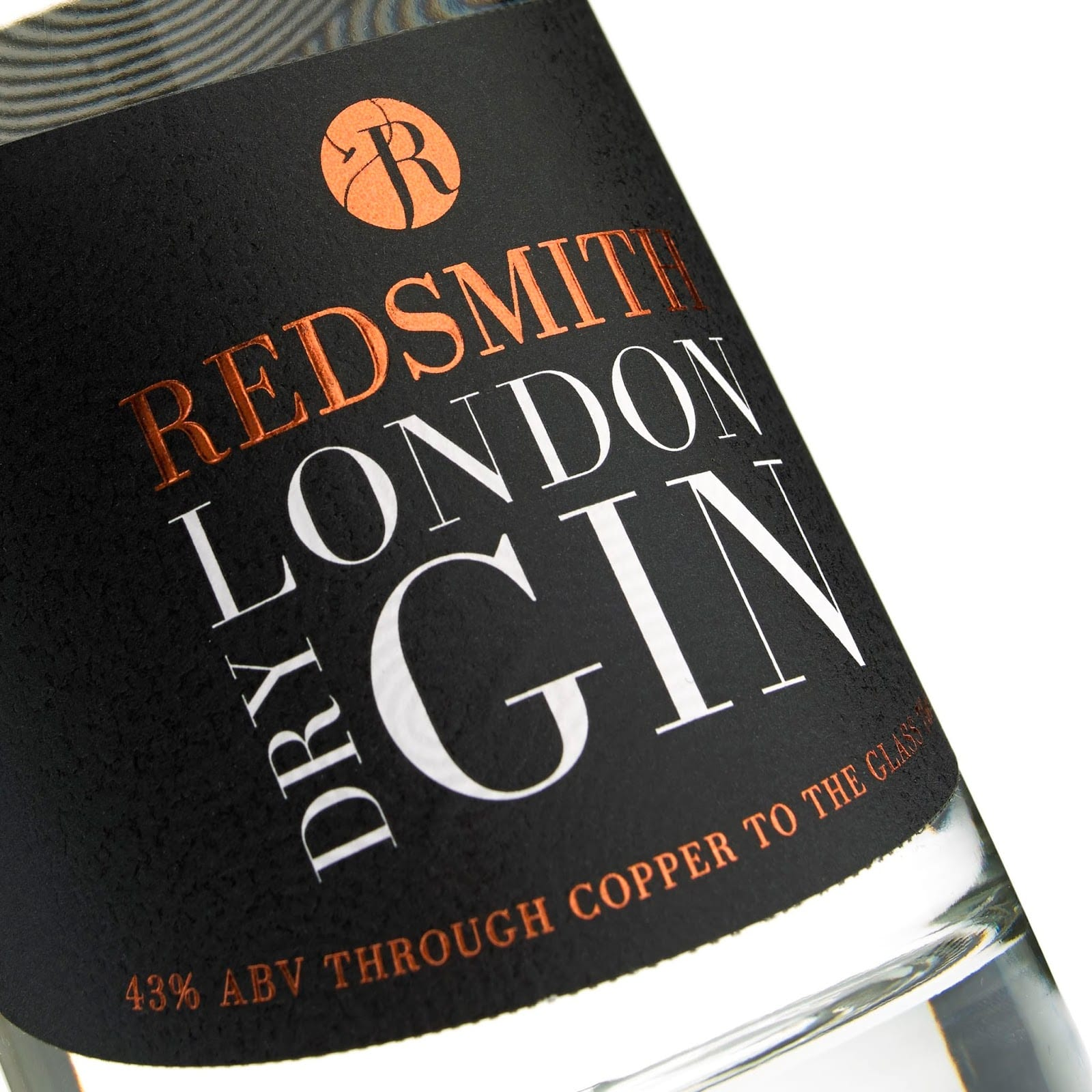Royston Labels Redsmith 9 - Redsmith London Dry Gin
