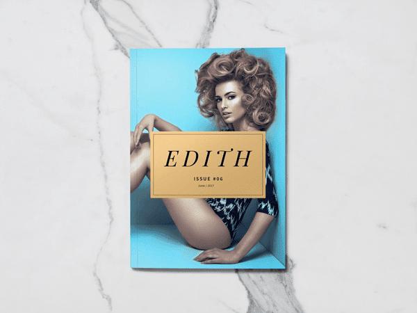 cover 3 - Realistický mockup A5 magazínu zadarmo!