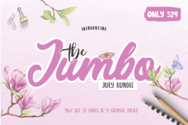 cover 7 380x252 - The Jumbo July Bundle s 96% zľavou!