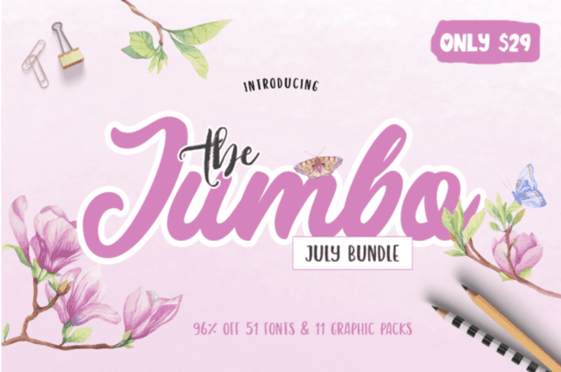 cover 7 800x531 - The Jumbo July Bundle s 96% zľavou!