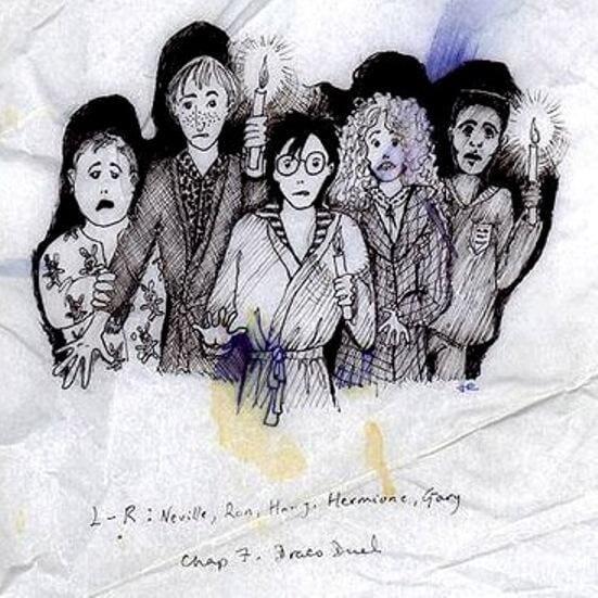 vM55XiMSmiY3XFbsuWn8z8 970 80 - Prvé ilustrácie Harryho Pottera vôbec