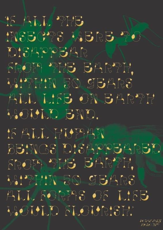 168. Typography and Nature FRASCA Aniello - Ekoplagát ´17 – víťazné plagáty