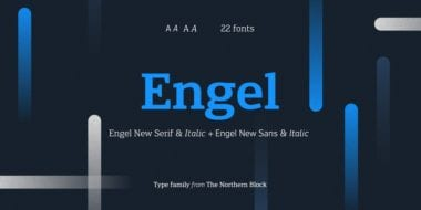 237471 380x190 - Font dňa – Engel New