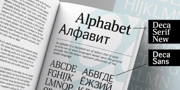 238897 580x290 - Font dňa – Deca Serif New