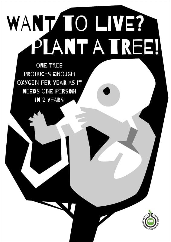 80. PlantATree CHOJNA Elzbieta - Ekoplagát ´17 – víťazné plagáty