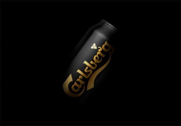 Kontrapunkt Carlsberg rebrand itsnicethat 1 580x403 - Black Gold Carlsberg v elegentanom obale