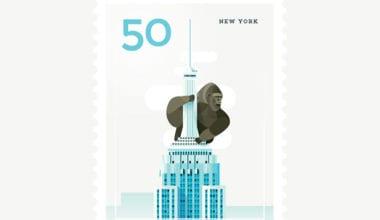 New York City 1 380x220 - Ilustrované známky zachytávajú dominanty z celého sveta