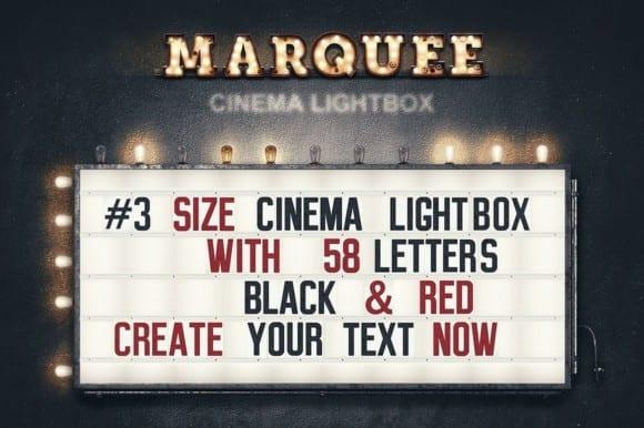 marqueelightbulbsfrontview01  580x386 - Efekt Vintage 3D svetených panelov za 19 dolárov!