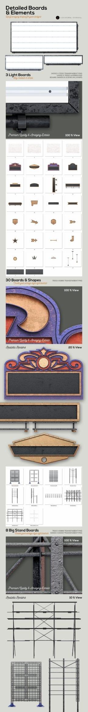 marqueelightbulbsfrontview07b  - Efekt Vintage 3D svetených panelov za 19 dolárov!