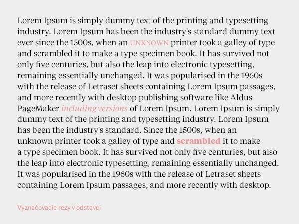 typografia 8 - Tajomstvo dokonalej typografie