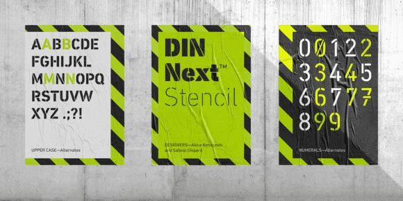 241491 580x290 - Font dňa – DIN Next Stencil