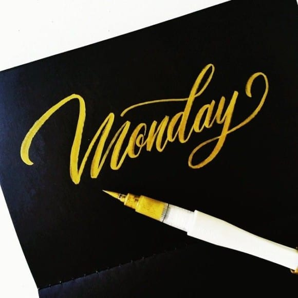 5552f8fbddd3980af5129203ff22628b its monday mondays 580x580 - Luxusný lettering