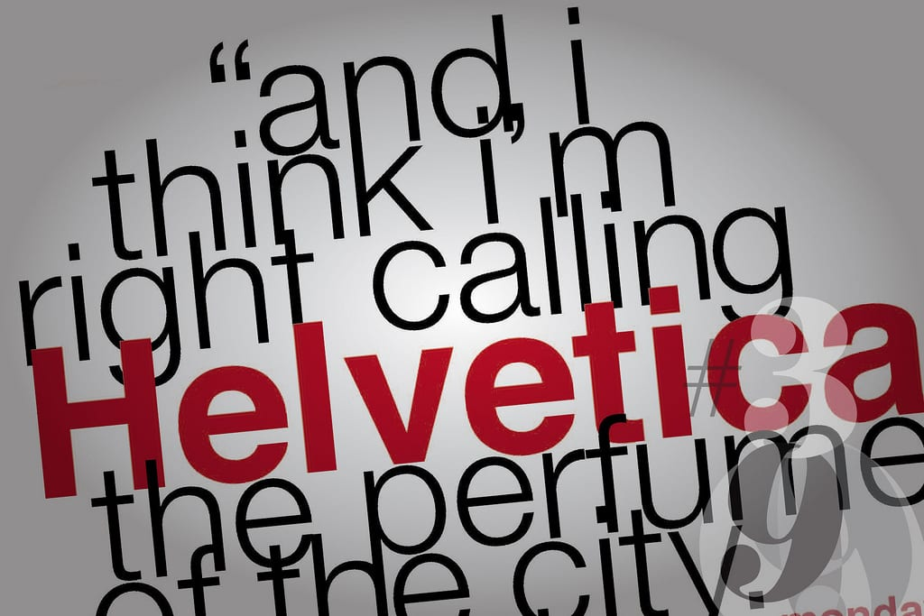 display - Jak se Helvetica stala jedním z nejoblíbenějších světových písem