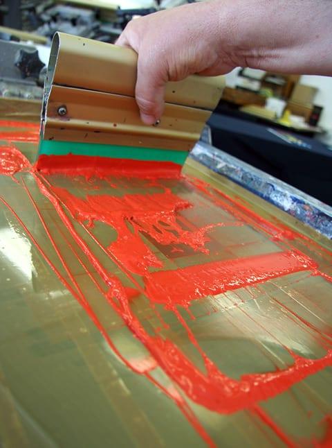 Práca pre tlačiara - potlač textilu