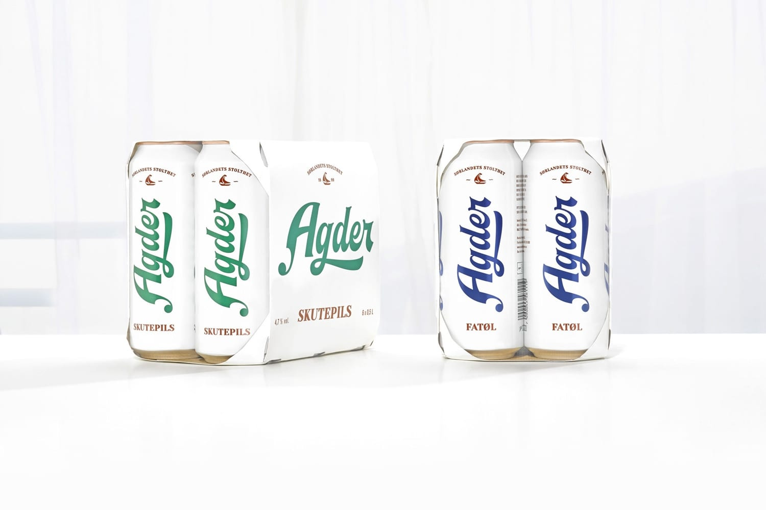 01 Agder Bryggeri Local Beer Branding Packaging Frank Norway BPO - Ach, tie obaly – Agder Bryggeri by Frank