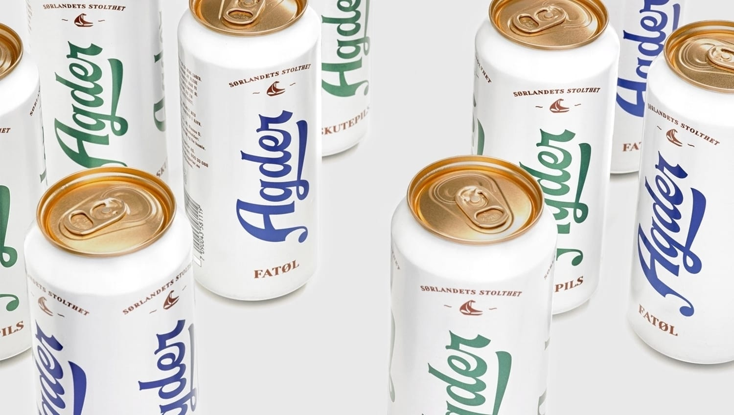 04 Agder Bryggeri Local Beer Branding Packaging Frank Norway BPO - Ach, tie obaly – Agder Bryggeri by Frank