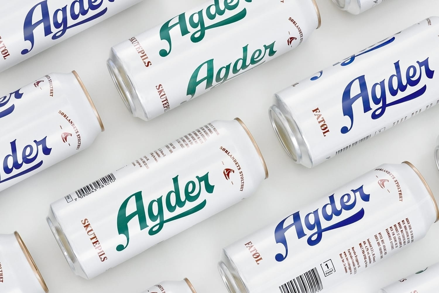 05 Agder Bryggeri Local Beer Branding Packaging Frank Norway BPO - Ach, tie obaly – Agder Bryggeri by Frank