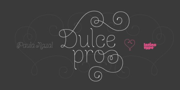 126951 580x290 - Font dňa – Dulce Pro