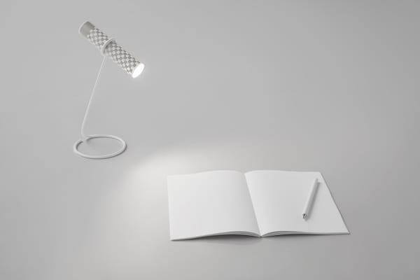 2 - Důmyslná svítilna Nendo vyrobená z jediného listu papíru