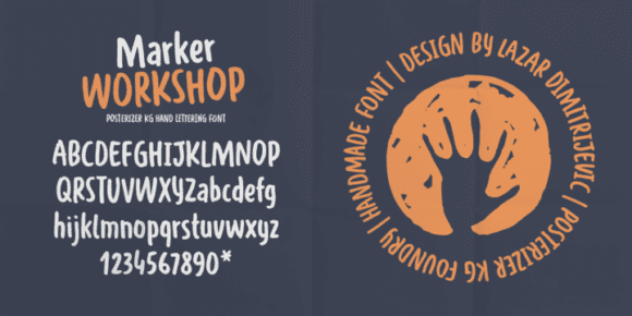 238350 580x290 - Font dňa – WORKSHOP Marker