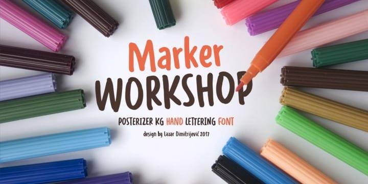 238354 - Font dňa – WORKSHOP Marker