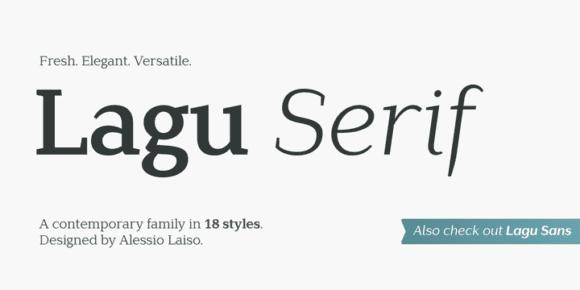 243351 580x290 - Font dňa – Lagu Serif