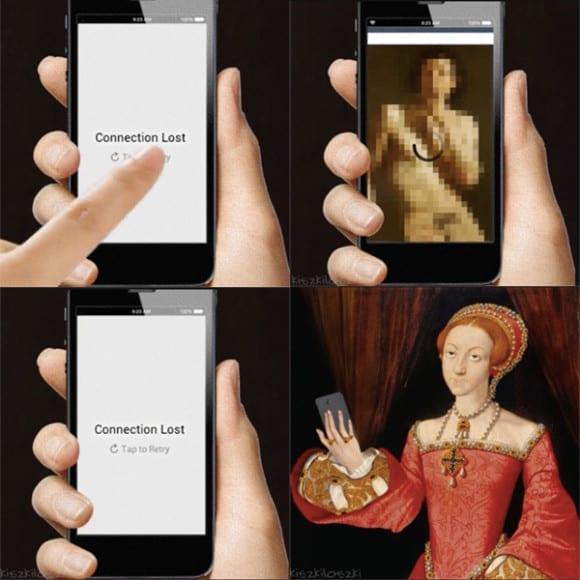 IMG 0001 580x580 - Slávne umelecké diela transformované do GIFiek dnešnej doby