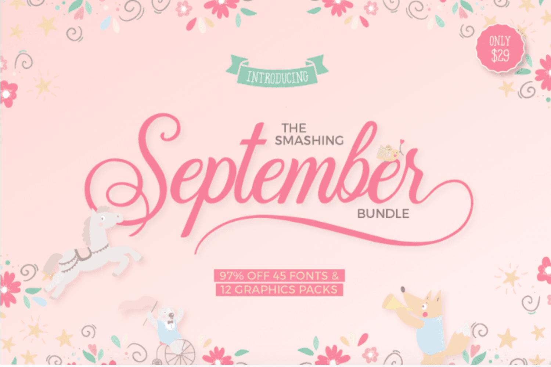 cover - Smashing September Bundle so zľavou 97%