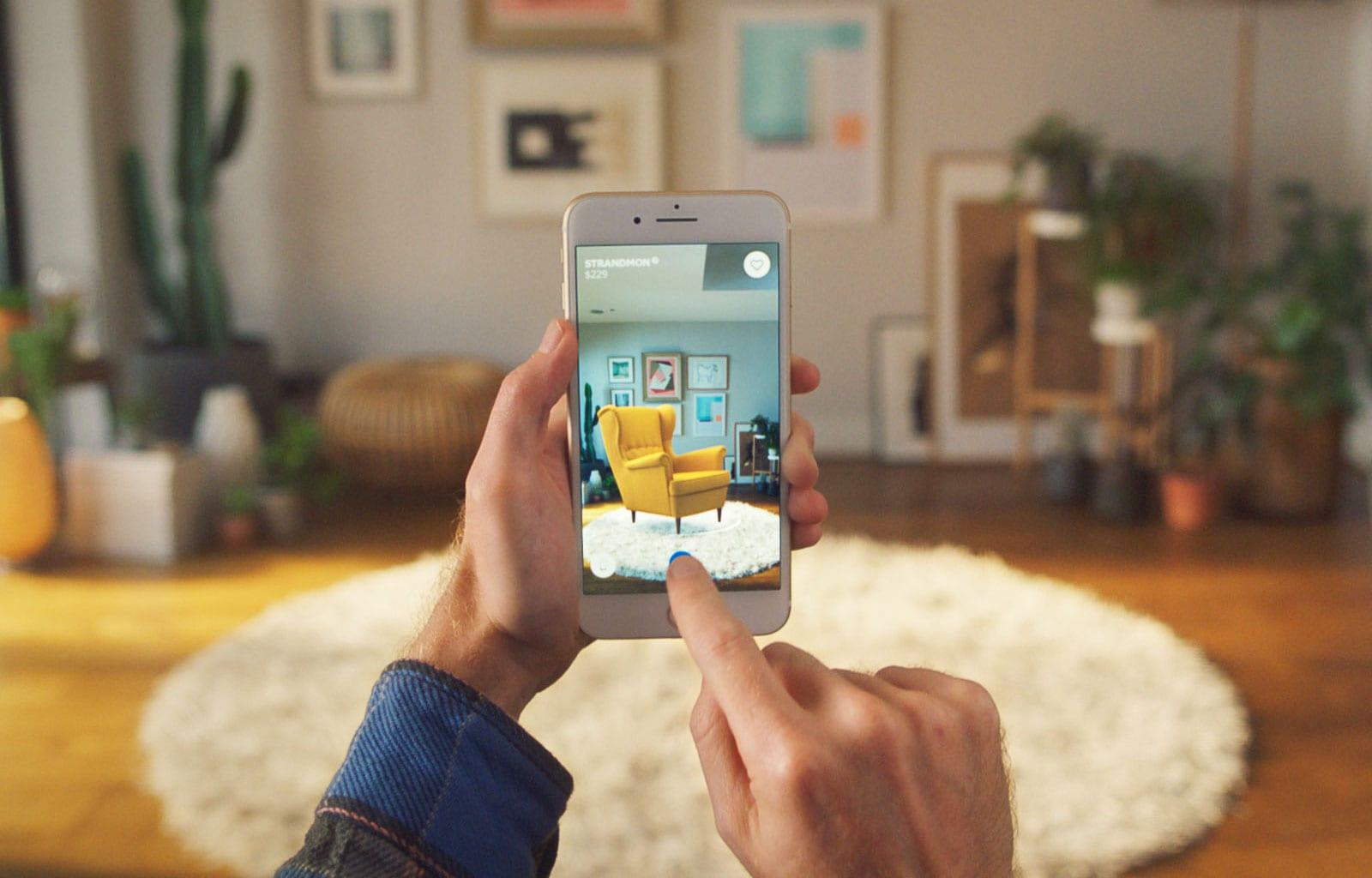 ikea place ed - Bezplatná aplikace AR od IKEA, která vám umožní vizualizovat předměty ve vašem domě