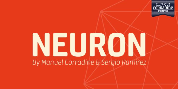 211006 - Font dňa – Neuron