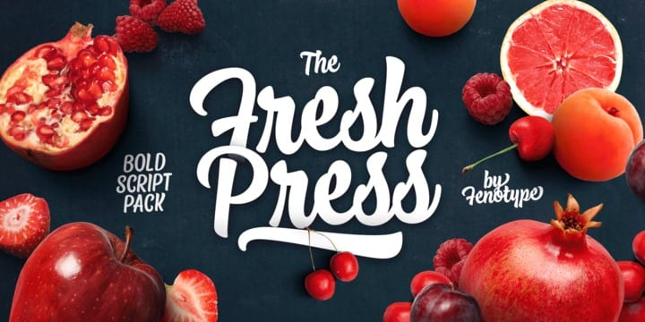 243815 - Font dňa – Fresh Press
