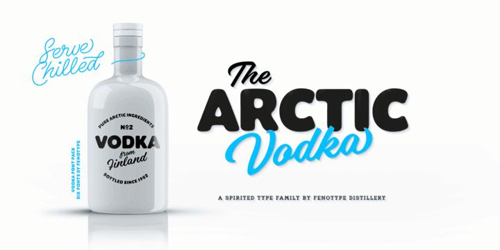 246507 - Font dňa – Vodka