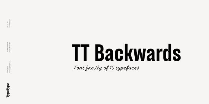 246540 - Font dňa – TT Backwards