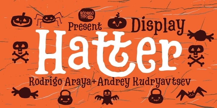 246953 - Font dňa – Hatter Display